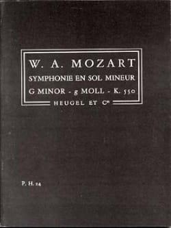 MOZART - Symphonie N° 40 g-moll KV 550 - Conducteur - Partition - di-arezzo.fr