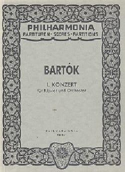 Piano Concerto n° 1 – Score - Béla Bartok - laflutedepan.com