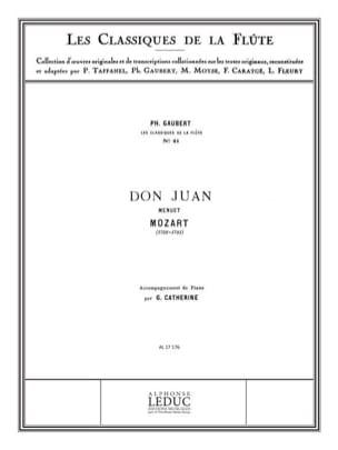 MOZART - Don Juan: Menuet - Piano Flute - Sheet Music - di-arezzo.com