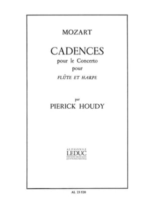 Mozart Wolfgang Amadeus / Houdy Pierick - Cadenzas for the Concerto KV 299 - Flute and harp - Sheet Music - di-arezzo.com