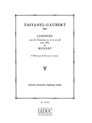 Cadences pour le Concerto en ré maj. KV 314 - laflutedepan.com