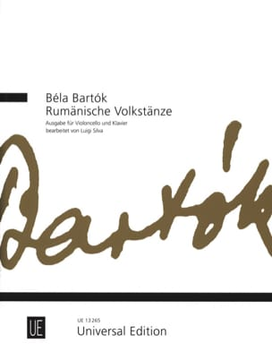 BARTOK - Rumänische Volkstänze - Cello - Sheet Music - di-arezzo.co.uk
