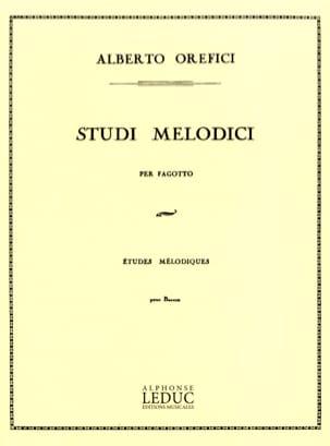 Alberto Orefici - Studi Melodici - Partitura - di-arezzo.es