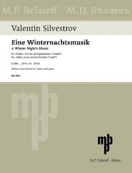 A Winter Night's Music - Valentin Silvestrov - laflutedepan.com