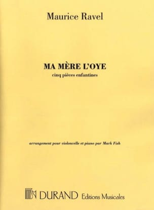 Maurice Ravel - Ma Mère l'Oye - Partition - di-arezzo.fr