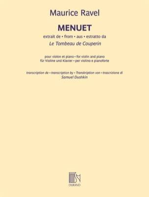 Maurice Ravel - Minuet - Sheet Music - di-arezzo.com