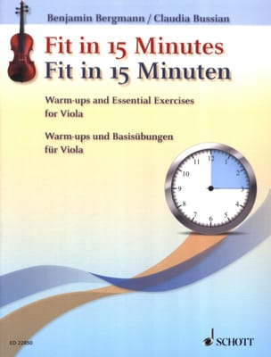 Benjamin / Bussian Claudia Bergmann - Fit in 15 Minutes - Partition - di-arezzo.fr