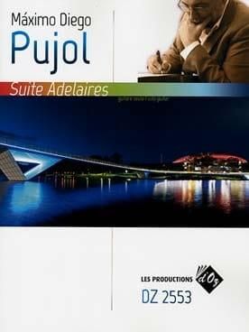 Suite Adelaires - Guitare - Maximo Diego Pujol - laflutedepan.com