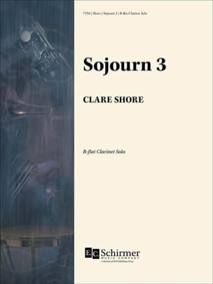 Clare Shore - Sojourn 3 - Solo Bb Clarinet - Sheet Music - di-arezzo.co.uk