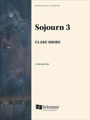 Clare Shore - Sojourn 3 - Clarinete en La Solo - Partitura - di-arezzo.es