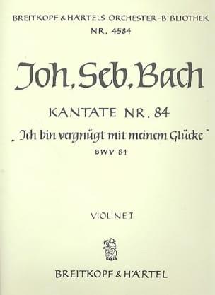 Kantate 84 Ich bin Vergnugt Johann Sebastian Bach laflutedepan