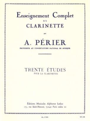 Auguste Périer - 30 Studies - Sheet Music - di-arezzo.com
