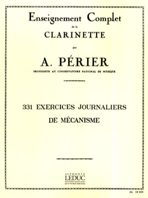 Auguste Périer - 331 Daily Mechanism Exercises - Sheet Music - di-arezzo.co.uk
