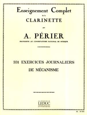 Auguste Périer - 331 Daily Mechanism Exercises - Sheet Music - di-arezzo.com