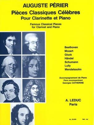 Pieces classiques célèbres - Clarinette piano laflutedepan