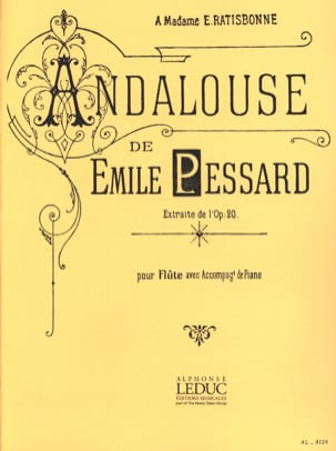 Emile Pessard - Andalusian extr. op. 20 - Piano flute - Sheet Music - di-arezzo.co.uk
