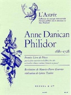 Anne Danican-Philidor - 1st Book of plays - Flute Bc - Sheet Music - di-arezzo.com