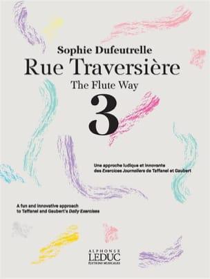 Sophie Dufeutrelle - Rue Traversière - 3 - Sheet Music - di-arezzo.com
