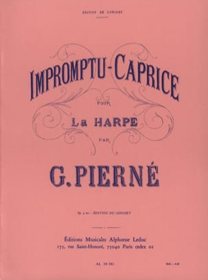Gabriel Pierné - Impromptu-Caprice Opus 9 Ter - Sheet Music - di-arezzo.co.uk