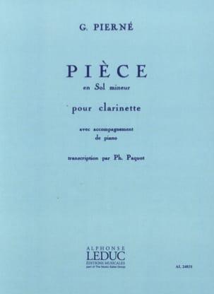 Gabriel Pierné - Pièce en sol mineur - Partition - di-arezzo.fr