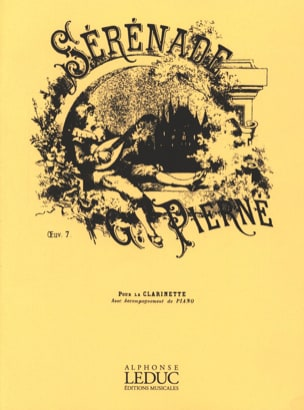 Gabriel Pierné - Serenade op. 7 - Clarinet - Sheet Music - di-arezzo.com