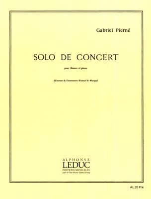 Gabriel Pierné - Solo concert op. 35 - Sheet Music - di-arezzo.co.uk
