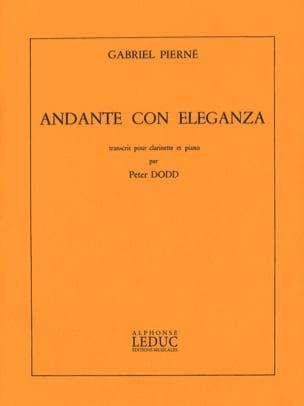 Gabriel Pierné - Andante con eleganza - Partition - di-arezzo.fr