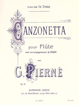 Gabriel Pierné - Canzonetta op. 19 - Partition - di-arezzo.fr
