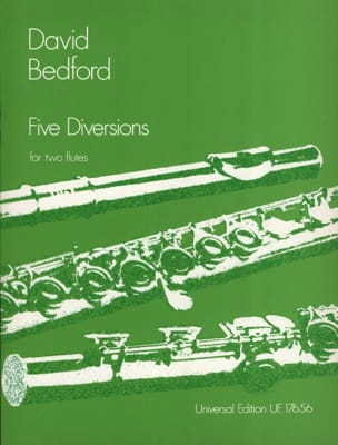 Five Diversions - 2 Flutes - David Bedford - laflutedepan.com