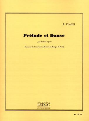 Robert Planel - Prelude and dance - Sheet Music - di-arezzo.co.uk