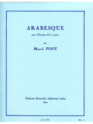 Marcel Poot - Arabesque - Sheet Music - di-arezzo.co.uk