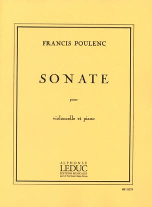 Francis Poulenc - Sonate - Cello - Sheet Music - di-arezzo.co.uk