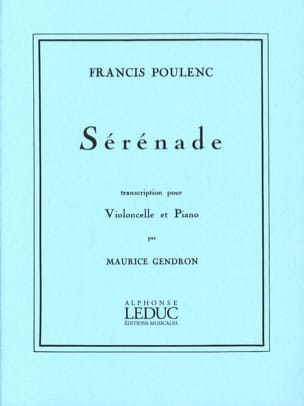 Francis Poulenc - Serenade - Sheet Music - di-arezzo.co.uk