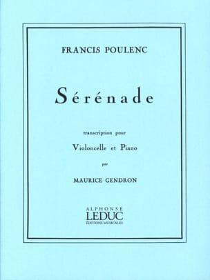Francis Poulenc - serenata - Partitura - di-arezzo.es