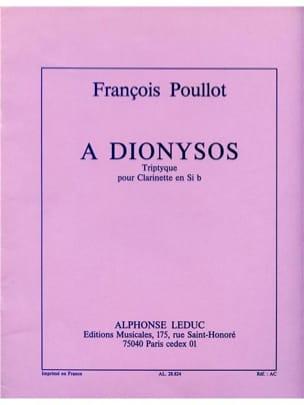 A Dionysos - François Poullot - Partition - laflutedepan.com