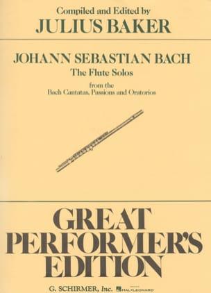 BACH - Flute Solos Bach Cantatas, Passions - Oratorios - Sheet Music - di-arezzo.com