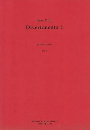 Divertimento 1 - H. Dillo - Partition - laflutedepan.com