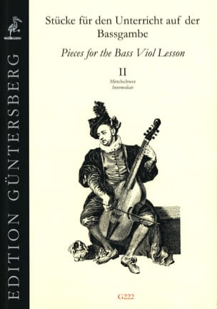 Pieces for the bass viol Intermediate - laflutedepan.com