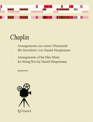Charlie Chaplin - Movie Music Arrangements - Sheet Music - di-arezzo.co.uk