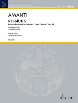 Lucio Franco Amanti - ReSolUtIo - Partition - di-arezzo.fr