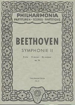 Symphonie Nr. 2 D-Dur op. 36 - Partitur - BEETHOVEN - laflutedepan.com