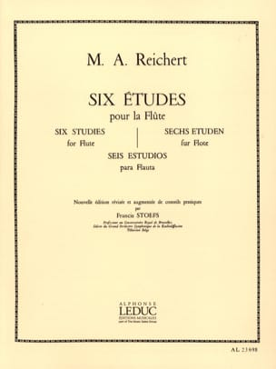 6 Etudes op. 6 - Flûte - Mathieu André Reichert - laflutedepan.com