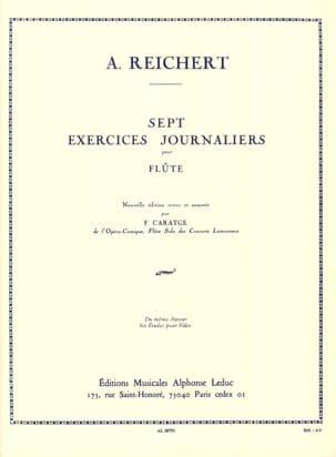 Mathieu André Reichert - 7 Daily Exercises Op. 5 - Sheet Music - di-arezzo.co.uk