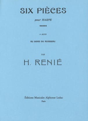 Henriette Renié - 6 Rooms - # 1 At the edge of the stream - Sheet Music - di-arezzo.co.uk