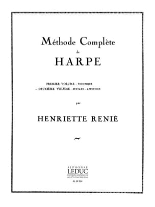 Henriette Renié - Harp Method - Volume 2 - Sheet Music - di-arezzo.com
