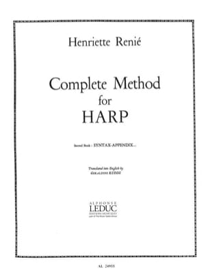Henriette Renié - Harp Method - Volume 2 English - Sheet Music - di-arezzo.co.uk