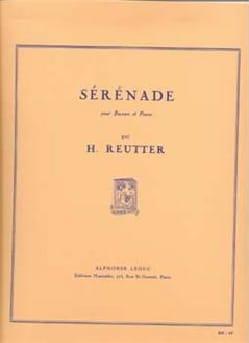 Hermann Reutter - セレナーデ - 楽譜 - di-arezzo.jp