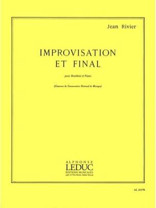 Improvisation et Final - Jean Rivier - Partition - laflutedepan.com