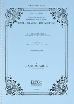 J. Guy Ropartz - 60 Lecons of Solfege - Sheet Music - di-arezzo.com