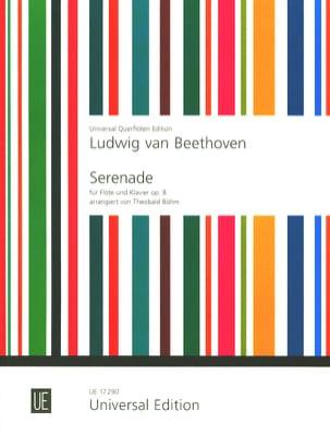 Ludwig van Beethoven - Sérénade, op. 8 – Flöte Klavier - Partition - di-arezzo.fr